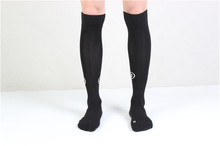 Sexy Women Opaque Stretchy Spandex Knee High Trouser Socks