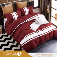 Polyester Microfiber Brush Fabric Bedding Sheet