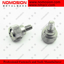 6#-32*5 hand twist screw Slotted head computer case thumb screws