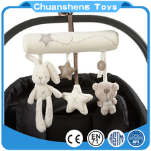 CHStoy custom shape safe crib stroller baby plush hanging toy