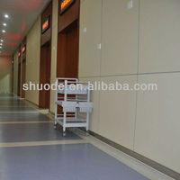 Hospital Vinyl Rigid Sheet Wall Covering