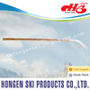 Hongen wood ice hockey stick--wood shaft, wood blade,