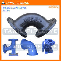 TAWIL china epoxy coated or bitumen painting ductile iron pipe fitting co.,ltd