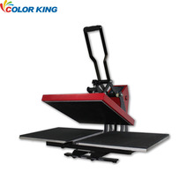 Two Working Plate Mahcine mesin heat press for t shirt Printing