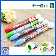 2016 new design hot wholesale ballpoint with stamp for school