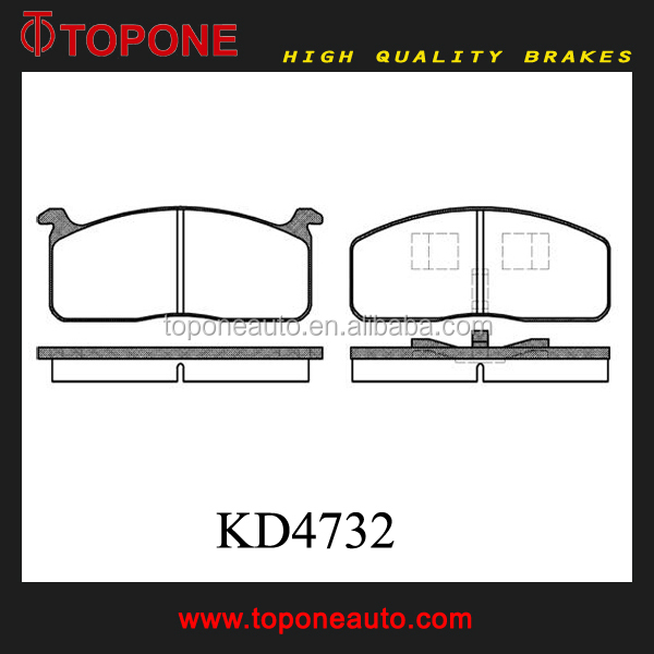 Factory Price Auto Brake Pads KD32 A42K for MITSUBISHI Auto Parts