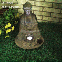 Factory price wholesale solar buddhas statue for sale