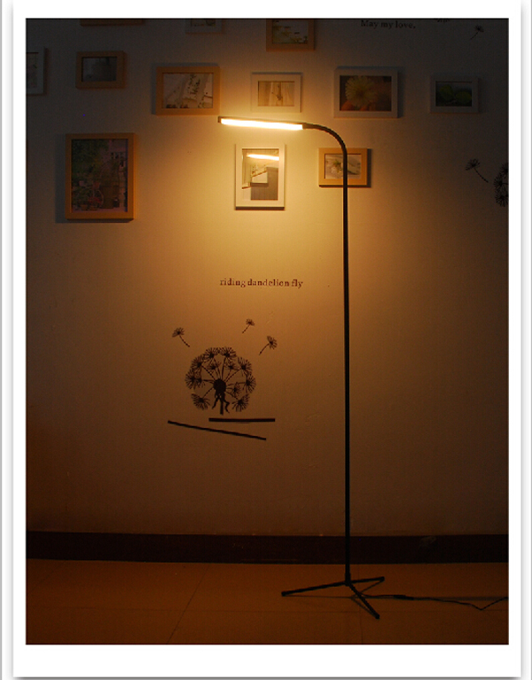 UYLED 5W Warm White Color Temperature 2.4G Wireless LED Floor Lamp