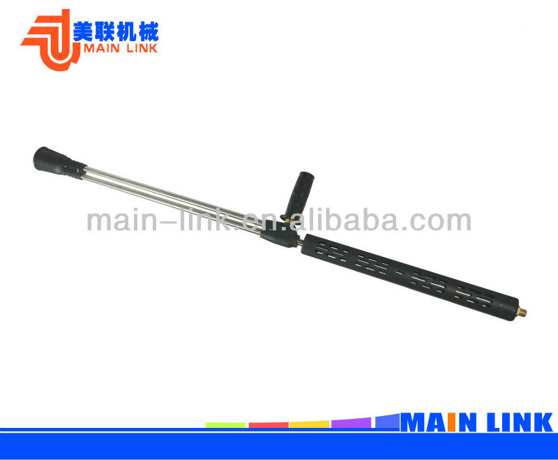 High Pressure Double Wand Spray Wand With Material Lance