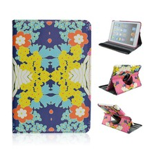Hot Selling Beautiful Floral 360 Rotatable Foldable Flip Stand Cover Case For Apple iPad Air 5