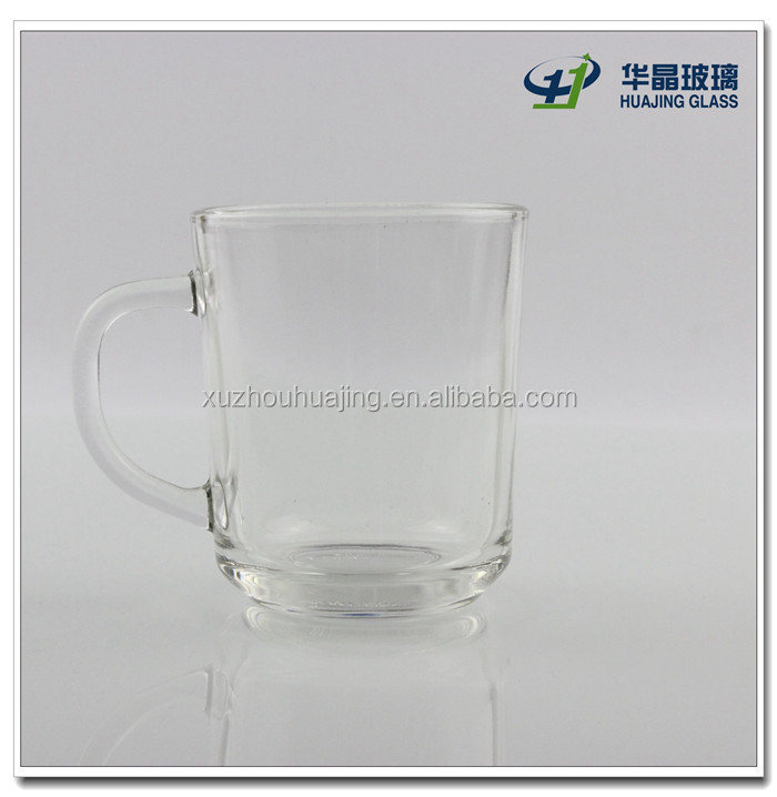 200ml glass tea cup glass water cup drinking glass cup for sell