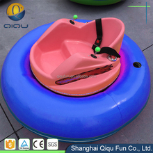 Newly Attractive Design Outdoor Kids Park Toys Fiberglass Material Indoor Bumped Bumper Cars For Sale Cheap With Cool LED Light
