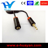 High quality 3.5mm audio cable jack to plug connector ,phone cable