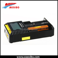 High quality Nitecore D2 smart charger for 18650 charger IMR/Lifepo4/NiMh/NiCd AA AAA battery charger