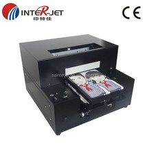 Digtal Any color garment DTG A4 size cheap t shirt printer