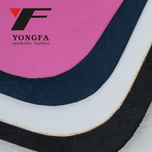 KL969 Abrasion-Resistant PVC/PU/TPU black Shoe synthetic Leather for Making Shoe