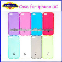 2013 New Products Matte Tpu Gel Case for iphone 5C Wholesale Price for New Coming Phone