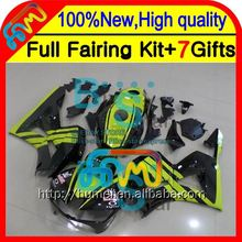 BodyGreen black For HONDA CBR600RR 13-14 CBR600 RR F5 28CL13 CBR 600RR 600 RR 13 14 2013 2014 Injection Green black Fairing