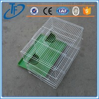 Cheap Security small wire folding bird cage , wire folding bird cage