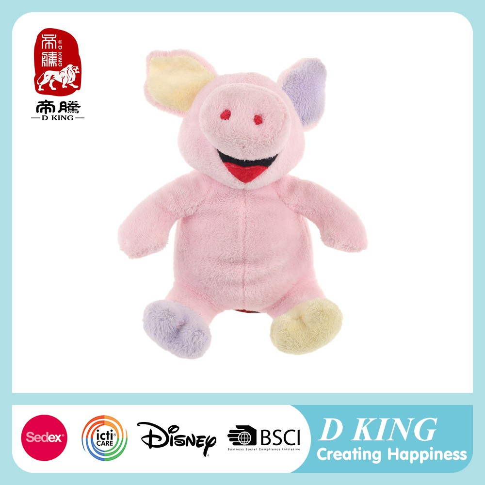 Comfy exquisite good-looking child real new gift cheap pig dolls