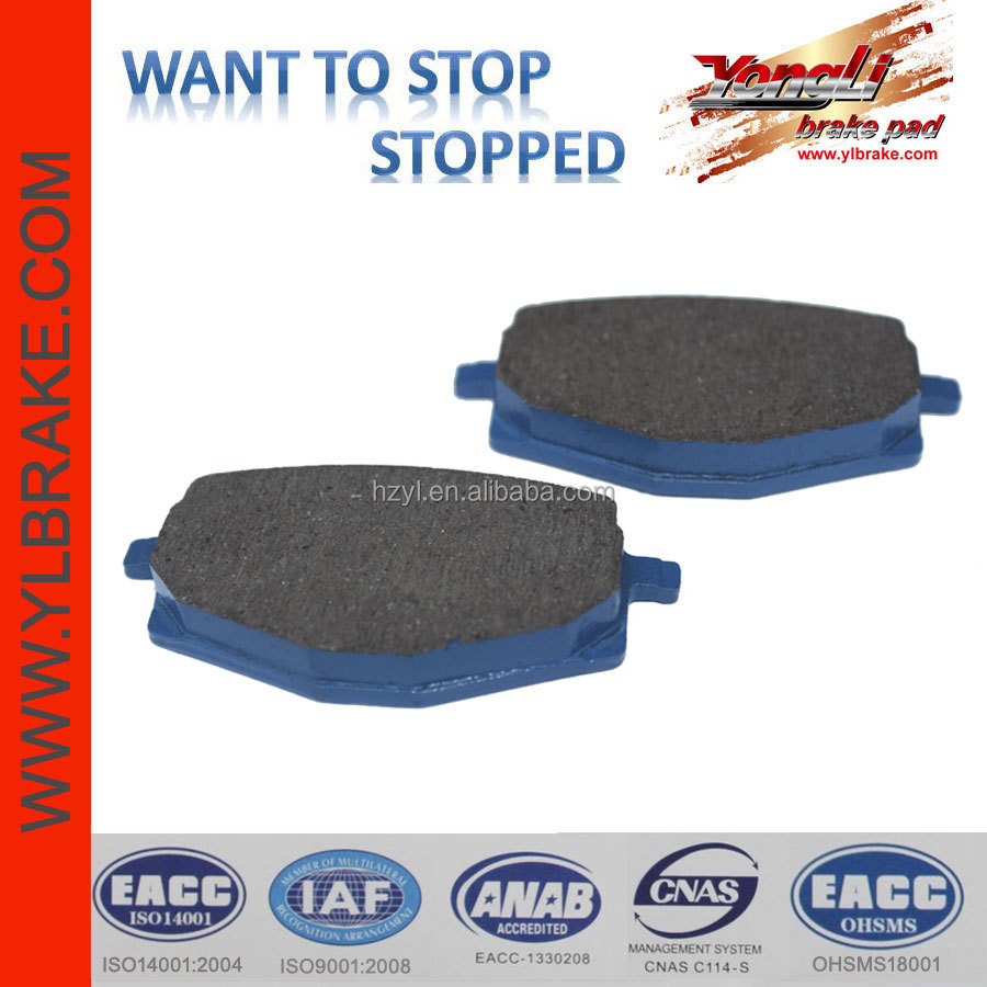 motorcycle disc brake pad for yamaha ybr 125;brake pad for Eggy 125cc (Scooter);China factory wholesale motorcycle brake pads