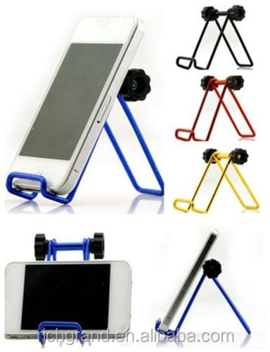 Cute New Mini Aluminum Alloy Phone Holder Stand for Mobile Smart Cell Phone For various cell phones