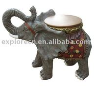 Elephant polyresin craft for home decoration