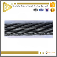 Ungalvanized steel wire AC cable