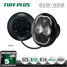 "Cool Motorcycle 5"" LED Headlight, High/Low Beam Round LED Round Headlamp"