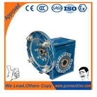 gear pinion in helical worm speed reducer