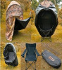 Camouflage Pop up Deer Ground Hunting Chair/Blind Tent
