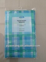 Printed plastic tablecover