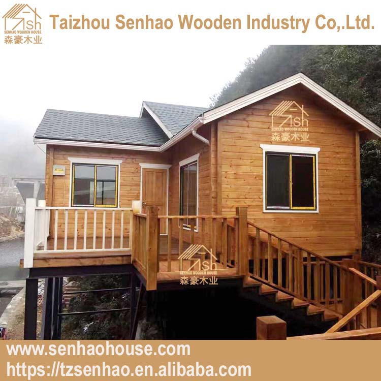 china prefab modular homes customized wooden house in the air for living