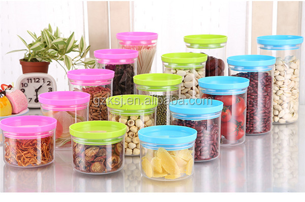China high quality make and design airtight plastic container and parts for food, nuts, beverage, etc