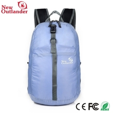 Fashion nylon cheap folding foldable backpack gift bag