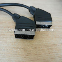 1.8m scart to vga cable Rohs TV networking