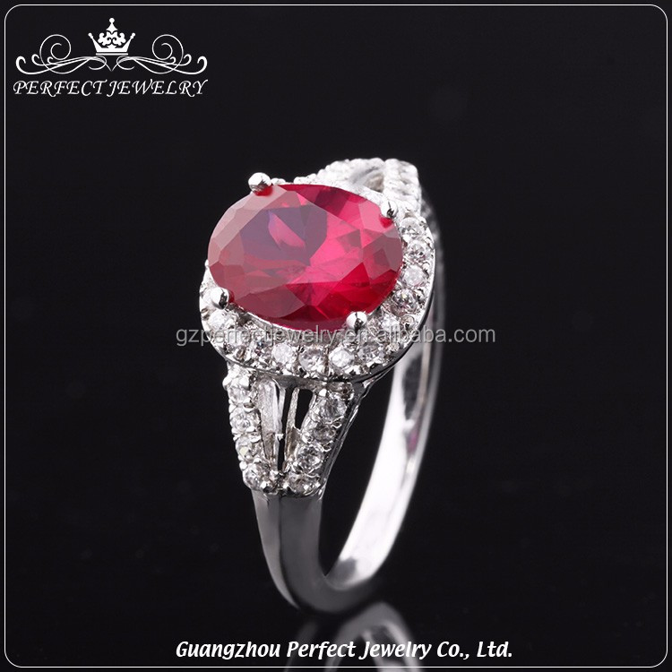 Customized high-end latest design cheap price women silver ring natural stone jewelry for gift