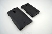 Wholesale leather cover for Nokia XL black flip case