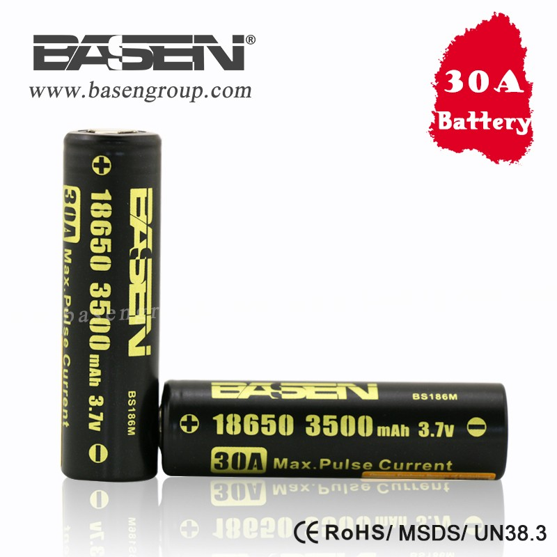 Rechargeable 3.7v 18650 3500mah 30A battery 2000mah 2200mah 2600mah 18650 Lithium Battery Pack for Medical Device