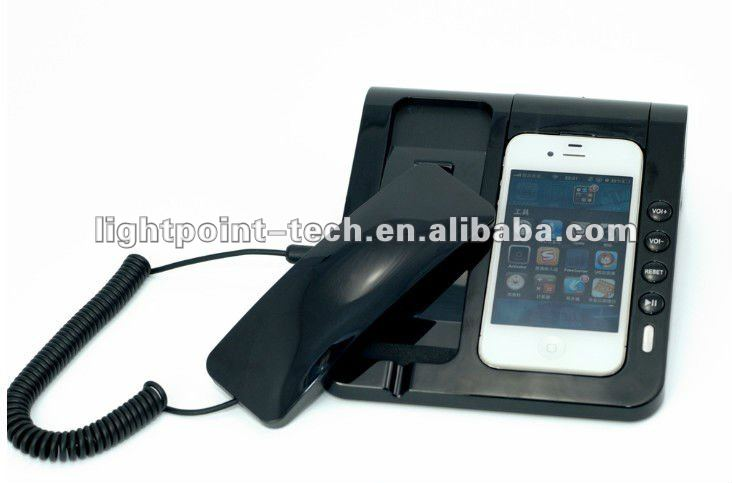 Hot Selling Anti-radiation Subwoofer Speaker for iPhone 5 4S Telephone Speaker for iPhone 4G