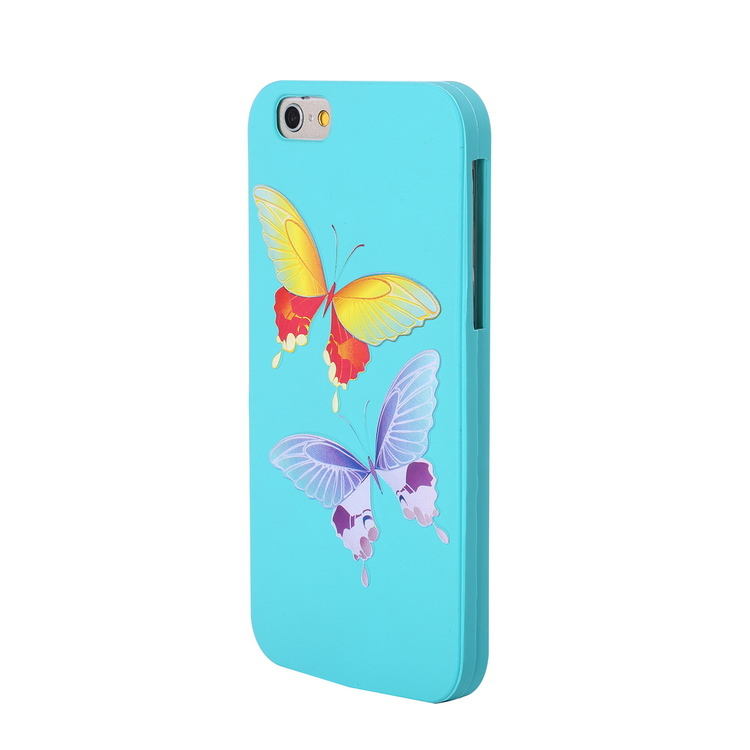 fancy new arrival multi color 3d cute cartoon silicone mobile phone case for iphone 6