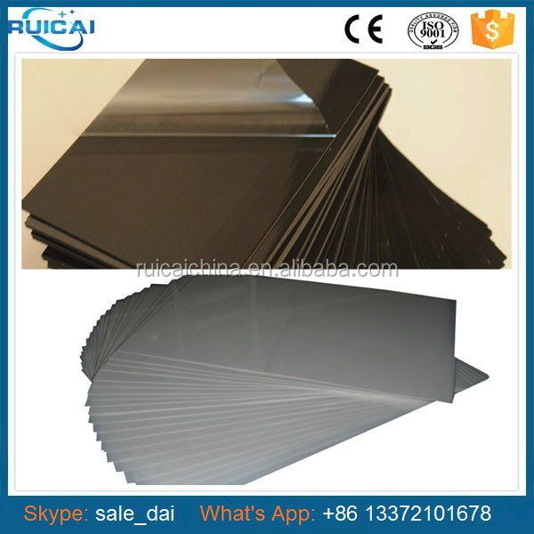 0.5mm Thickness Album Photo Materials PVC Sheet,Adhesive Album Inner Pages 14*19cm
