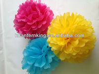 hot selling customized wedding&party pompoms