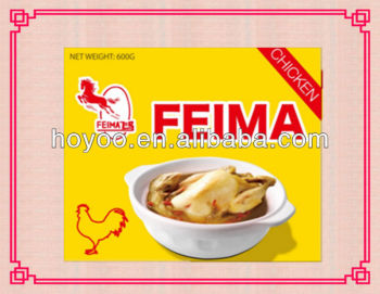 10g/pc chicken bouillon cube