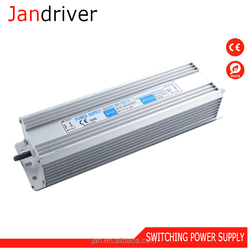 China Suppliers Waterproof Power <strong>Supply</strong> 220V AC To 110V DC 100W 12V CCTV Power <strong>Supply</strong> for Led Strips CCTV Camera