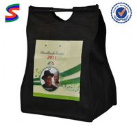 Color Folding Non Woven Promotional Bag Non Woven Bag Cutting And Sewing Machine