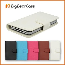 mobile cover folding case leather phone case for gionee elife e6 case