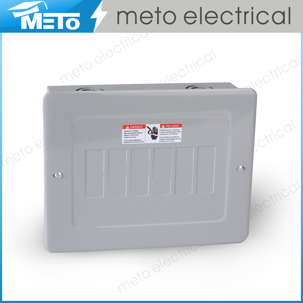 China Meto MTS 0.8-1.2mm thickness 6 way 120/240V economy electric power distribution high quality meter box