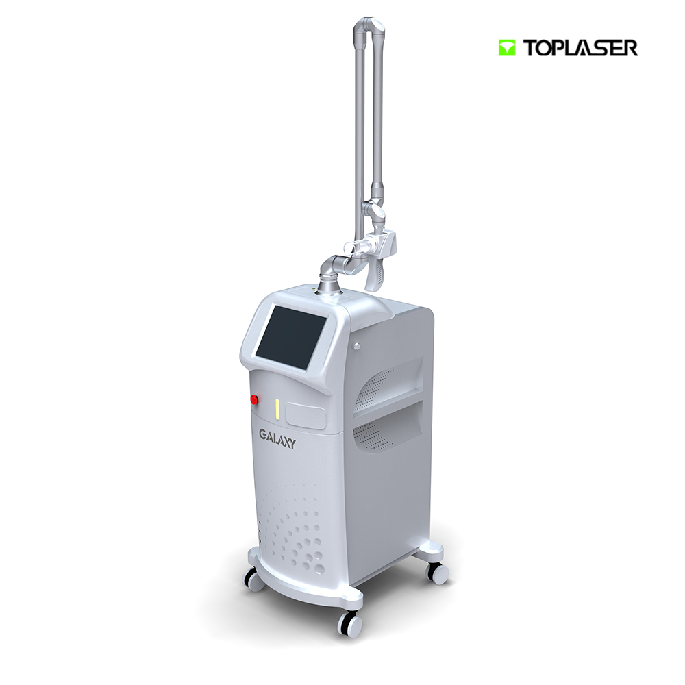 FDA approved RF-excited CO2 fractional laser skin care and vagina tightening multifunction beauty machine