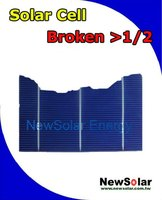 156 Multi 3BB >1/2 Broken silicon solar cells